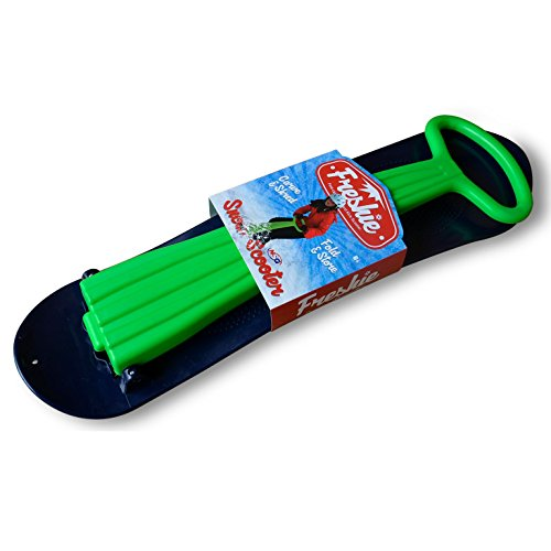 NSG Freshie Snow Scooter Sled Board, Green/Blue by NSG