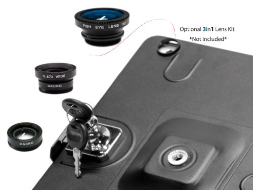 iShot G9 Pro iPad 2 3 4 Gen. Tripod Mount Adapter Holder Attachment - Easily and Safely Mount your iPad 234 to Any 1/4 inch Thread Standard Camera Tripod You Already Use - All Metal Custom Fit Frame by iShot Pro (Image #8)