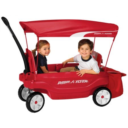 Radio Flyer Ultimate Comfort Canopy Wagon Dimensions: 42