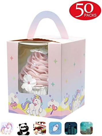 Unicorn Cupcake Boxes