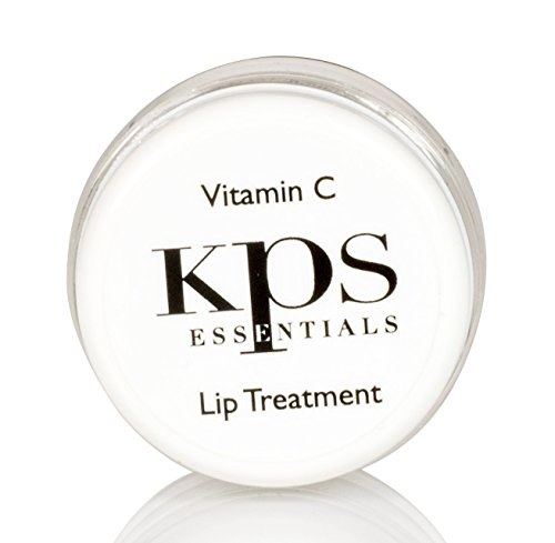 Vitamin C Lip Treatment | Restores Collagen | Moisturizing Lip Balm | Lip Plumper | With Natural Oils, Antioxidants, and Anti-Inflammatory Properties | Softens and Hydrates | by KPS Essentials