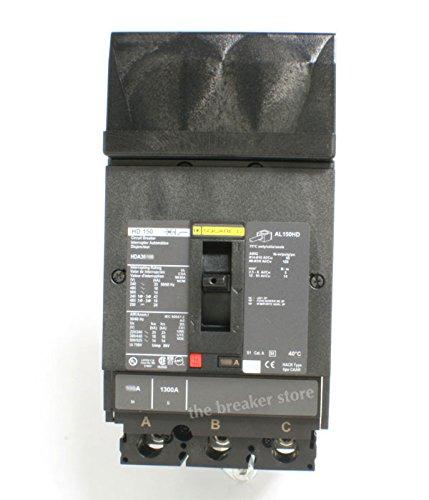 HDA36100, I Line Power Pact Square D Circuit Breaker
