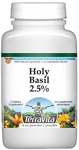 Holy Basil 2.5% Powder (4 oz, ZIN: 520509) - 3 Pack by TerraVita
