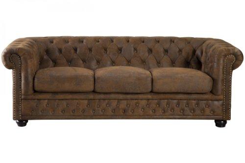 Reviewmeta Com Invicta Interior 17382 Chesterfield Sofa 3 Er Antik