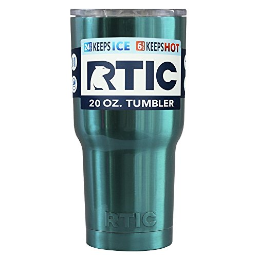 RTIC 20 oz Teal Candy Translucent Tumbler Cup