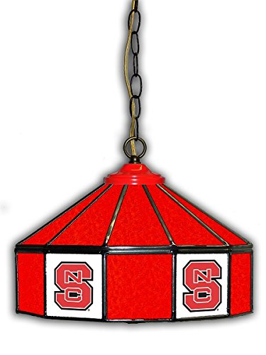 Official Licensed NCAA NORTH CAROLINA STATE 14'' Glass Pub Lamp by Imperial International by Imperial