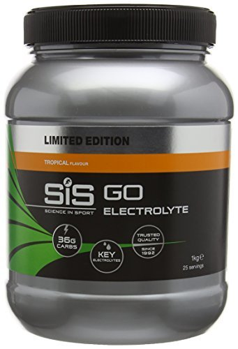 Amazon com: Science in Sport 1 kg Tropical Go Electrolyte
