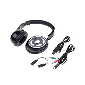 High-Fidelity Wireless Multipoint Stereo Bluetooth Headset CVC DSP TTS