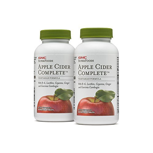 Gnc Superfoods Apple Cider Complete Twin Pack 90 Tablets Per Bottle Supports With Weight Loss Buy Online In French Guiana Gnc Products In French Guiana See