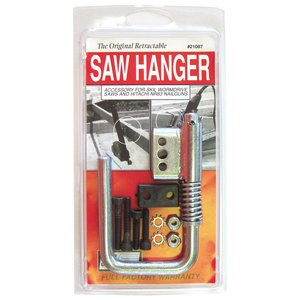 Toolhangers Unlimited Original Retractable Saw Hanger (Red #21087) - Accessory for Skil Wormdrive Saws SPT70WM-22, SPT77W-22 and SPT78W-22 by Toolhangers Unlimited (Image #1)