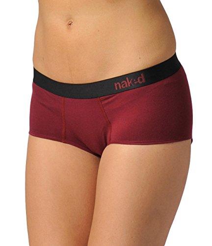 Capilene Womens Bras - Naked Womens Ecofabric Tencel Hipster Sleep Short Bottoms