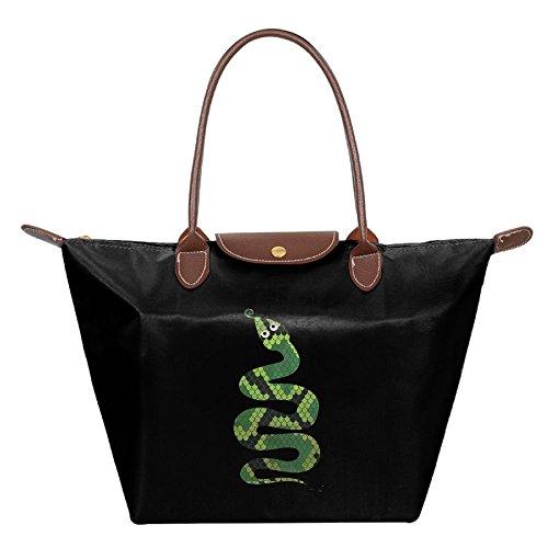 Hobo Bags Beach Tote Green Fashion Shoulder Snake Bag Black Womens Handbag U5w1x7qz