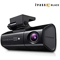 ITRONICS iPass Black ITB-200L VEHICLE DRIVING RECORDER 1CH CAR BLACK BOX DASH CAM SET