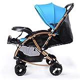 Stroller Baby Stroller - high Landscape Light Trolley Two-Way Shock - Child car