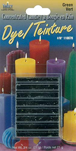 Yaley Concentrated Candle Dye Block Green (12 Pack)