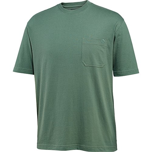Wolverine Men's Big and Tall Knox Wicking Short Sleeve Pocket T-Shirt, Sage, 4X-Large