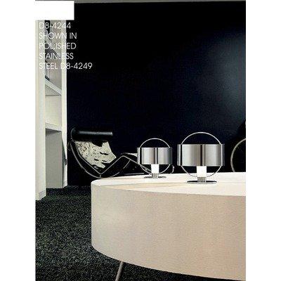 Zaneen Lighting D8-4246 Ring Table Lamp, Chrome
