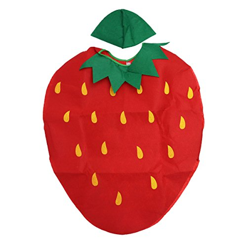LUOEM Kids Fruit Vegetables Costume Children Party Cosplay