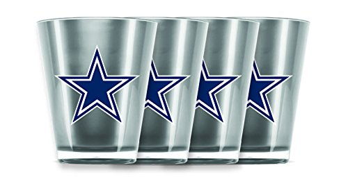 NFL Dallas Cowboys Insulated Acrylic Shot Glass Set of 4