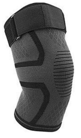 Didakay Knee Brace Support Sleeves - Neoprene Compression Sleeve for Men & Women, ACL, Arthritis, Meniscus Tear & Sports - Includes Adjustable Straps to Prevent Rolling