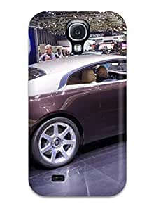 New Arrival Case Cover With Galaxy Design For Galaxy S4 2014 Rolls-royce Wraith