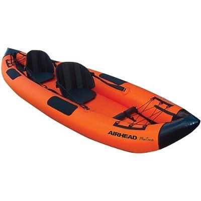 Image of Airhead Montana Kayak Two Person Inflatable Kayak Fishing Kayaks