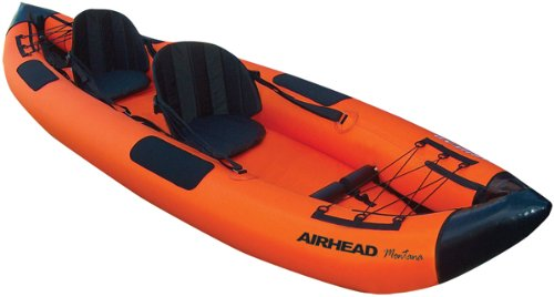 Airhead Inflatable Kayak (AIRHEAD AHTK-2 Montana Performance 2 Person Kayak)