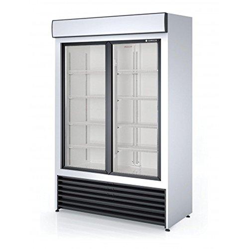 Armoire d'exposition positive 2 portes, L1250 x P690 x H2000 mm -CORECO