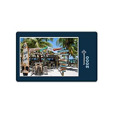 Hansepuzzle 11057 Natura Caraibi 2000 Pezzi In Scatola Di Cartone Di Alta Qualit Puzzle In Busta Richiudibile