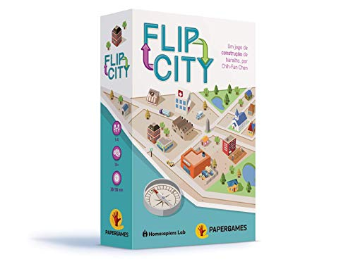 Flip City Card Game (The City Card Game)