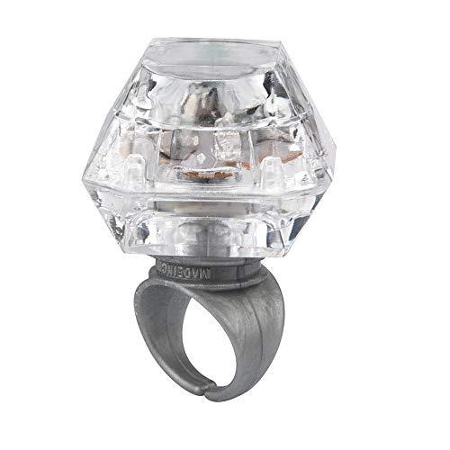 Diadia LED Light Flashing Finger Imitation Diamond Ring Kids Children Party...