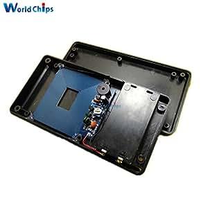 Diy Simple Metal Detector Metal Locator Kit DC 3V-5V Electronic Metal Sensor Module Induction Suite With Case
