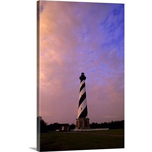 Michael DeFreitas Premium Thick-Wrap Canvas Wall Art Print Entitled Cape Hatteras Lighthouse Outer Banks, North Carolina 12