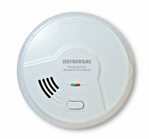Universal Security Instruments MP308 Battery-Operated Photoelectric Smoke and Fire Alarm by Universal Security Instruments