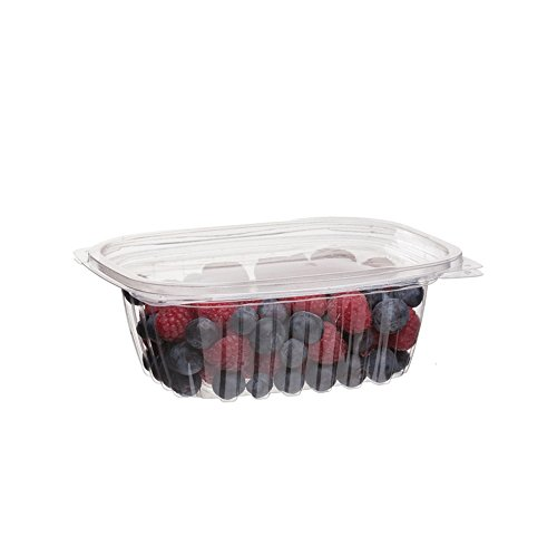 Eco-Products - Renewable & Compostable Rectangular Deli Container with Lid - 12oz. Container - EP-RC12 (Case of 300)