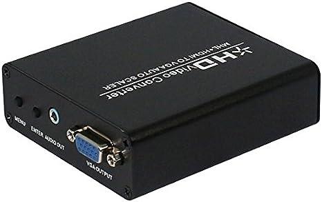 HDMI Cables, HD MHL / HDMI a VGA escalador caja del adaptador del ...