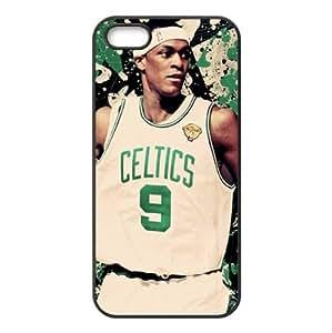 Boston Celtics Rajon Rondo Image Design iPhone 5/5s TPU Case-by Allthingsbasketball