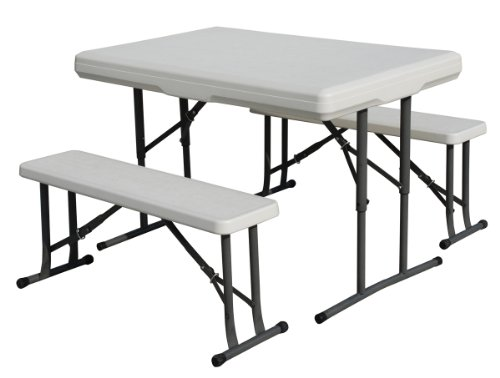 Stansport Heavy Duty Picnic Table and Bench Set (Duty Picnic Heavy Benches)