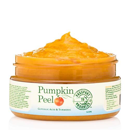 - Pumpkin Peel Face Mask - Organic - Smells like fresh pumpkin - Peels, Exfoliates, Moisturizes