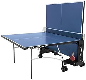 Dunlop EVO 3000 Ping Pong Jugar al Aire Libre Plegable Weel ...