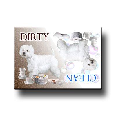 West Highland White Terrier Dishwasher - West Magnet Terrier Highland