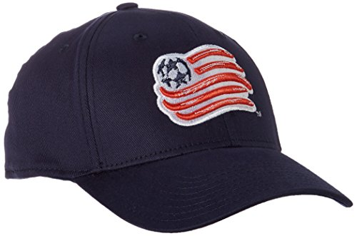 fan products of adidas MLS New England Revolution Men's Basic Structured Flex Cap, Large/X-Large, Navy