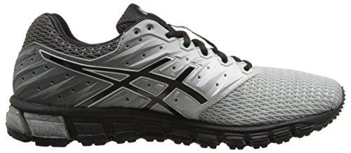 Asics hombres de gel-quantum 1802Zapatilla de Running Mid Grey/Black/Silver