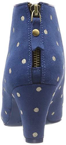 Lola Ava Femme blue 50 Ramona Bottines Bleu 6ZwSFq6