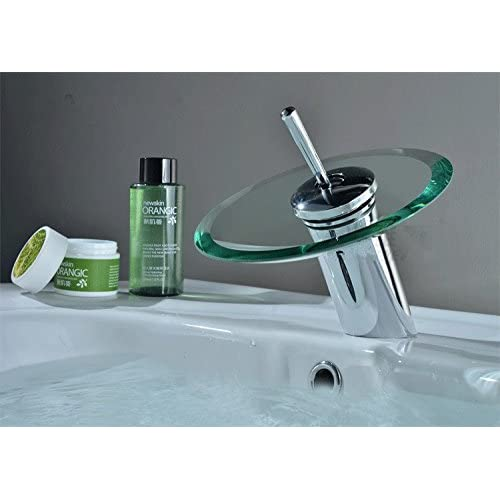 SBWYLT-Export above counter basin glass waterfall faucet waterfall faucet hot and cold faucets wash basin high-quality