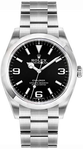 Rolex New Explorer 214270 39mm Stainless Steel Box/Papers/5YrWarranty #RL273