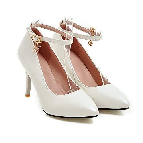 Bianco BalaMasa Zeppa White Donna Sandali APL10520 35 con q7fTq