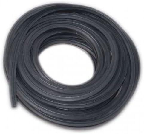 Gummiprofil 3m f/ür Nut 27 x 30 mm f/ür Glasst/ärke 20-22mm