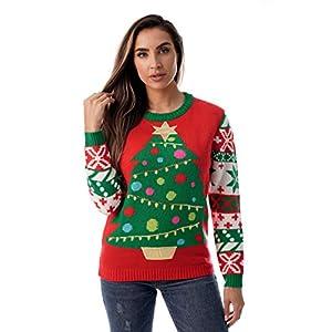 #followme Womens Ugly Christmas Sweater - Sweaters Women