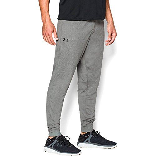 Under Armour Men's Tricot Pants - Tapered Leg, Greyhound Heather/Greyhound Heather, XX-Large